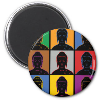 Buddha Pop Art Magnets