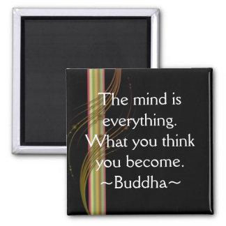Buddha Quotation Motivational Magnet