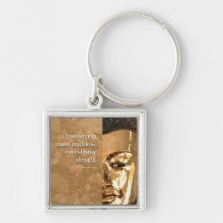 Buddha Serenity Gentleness Strength Key Chains