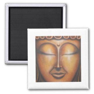 buddha series square magnet