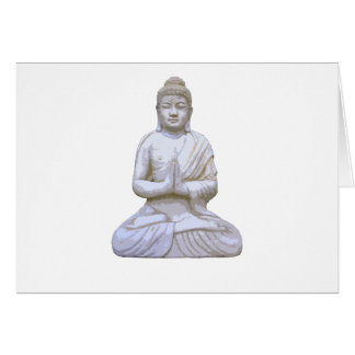 Buddha Sitting ~ Buddhist Buddhism Card