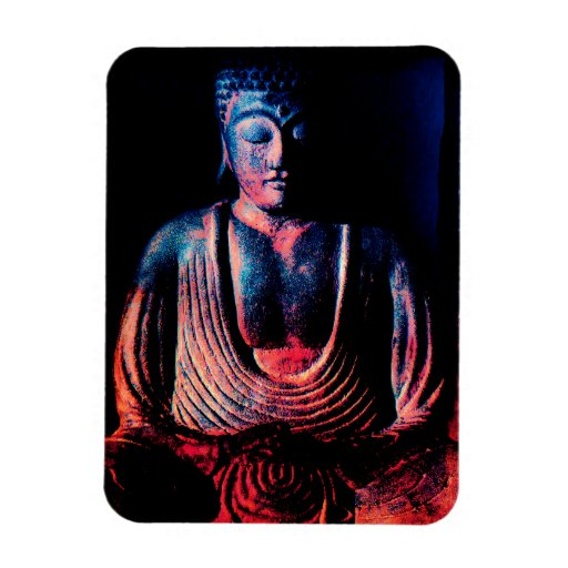 Buddha Sitting Picture Magnet