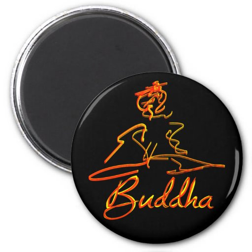 Buddha squigle magnets