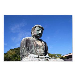 Buddha Statue in Kamakura Japan Art Photo
