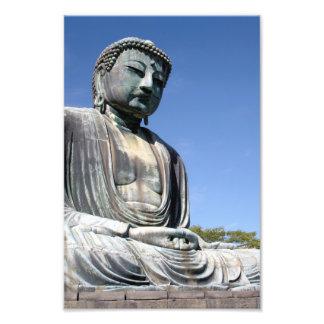Buddha Statue in Kamakura Japan Photo Print
