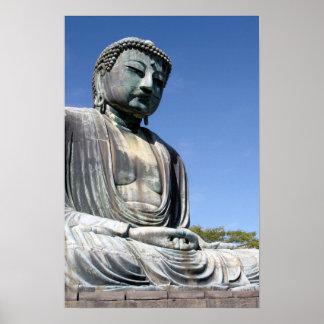 Buddha Statue in Kamakura, Japan Poster