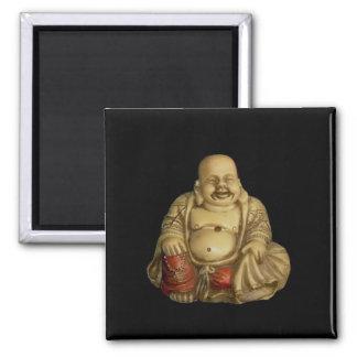 Buddha Statue Square Magnet