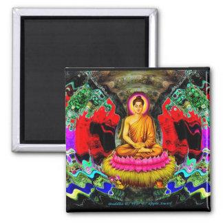 Buddha Swirl - Magnet