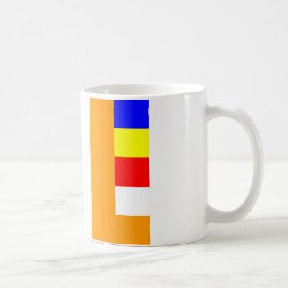 Buddhist Flag Basic White Mug