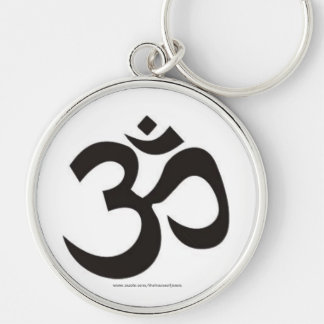 Buddhist Om Key Ring