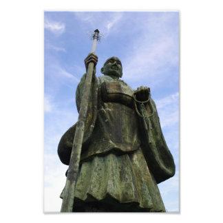 Buddhist Statue of Imayama Kobo Daishi Photographic Print