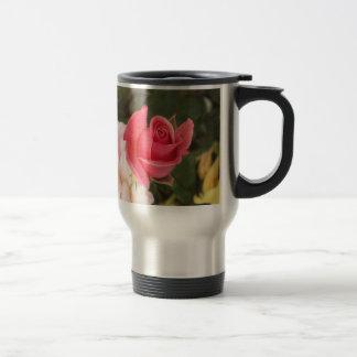 Budding Pink Rose Coffee Mugs