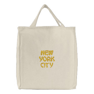 Budget Tote Embroidered Bag