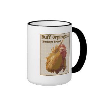 Buff Orpington Rooster Mug