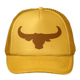 Buffalo Bison Bull Horns Mammalia Animal Cap