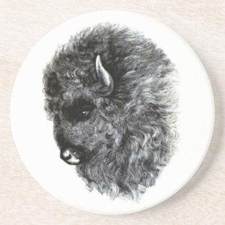 Buffalo Head - The Mighty American Buffalo! Coaster