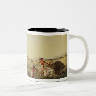 Buffalo Hunt Coffee Mugs