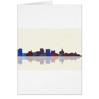 Buffalo New York skyline Card