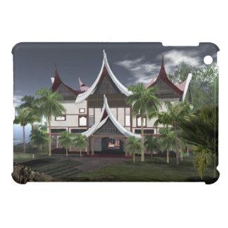 Buffalo Roof Minangkabau Tropical House iPad Mini Cover For The iPad Mini