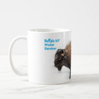 """Buffalo Winter Survivor Cup"" Coffee Mug"