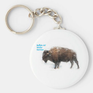 """Buffalo Winter Survivor KeyChain"" Key Ring"
