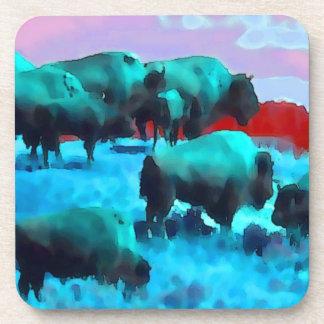 Buffaloes Coaster