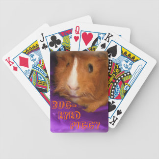 BUG-EYED PIGGY Playing Cards