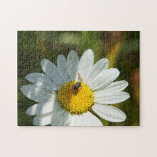 Bug On A Daisy Flower Puzzle