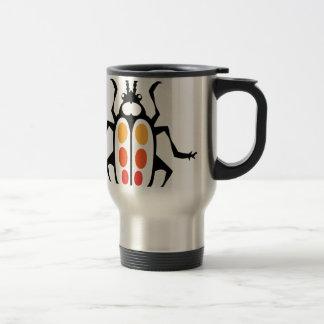 Bug vector travel mug