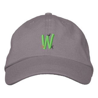 Bugs W Embroidered Baseball Caps