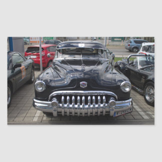 Buick 1950 Super Eight Rectangular Sticker