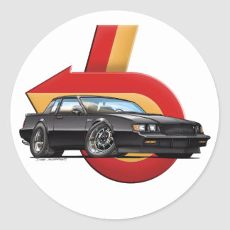Buick Grand National Classic Round Sticker