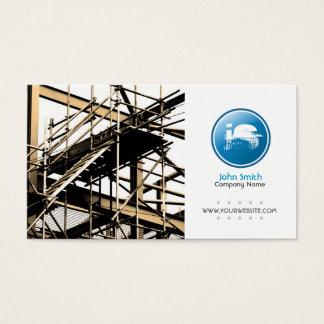 Builder/Construction Business Card (Blue Version)