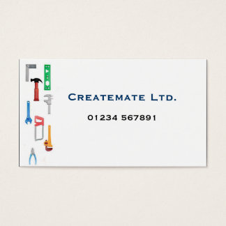 Builders 'Tools' Business Card