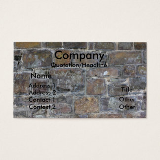 builders wall business card