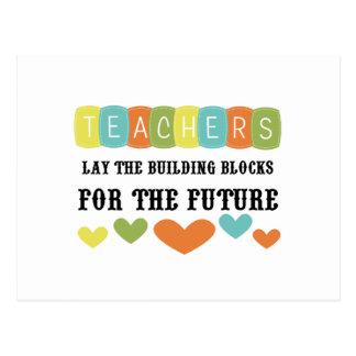 Building Blocks For The Future Postcard