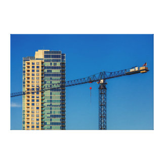 Building Canvas Print