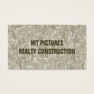 Building Lines Realtor Contractor Builder Card