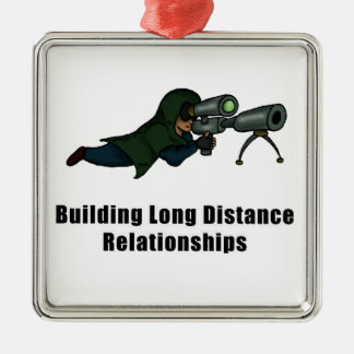 building long distance relationships christmas ornament