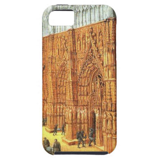 Building of the Temple of Jerusalem by Jean Fouque iPhone 5 Case