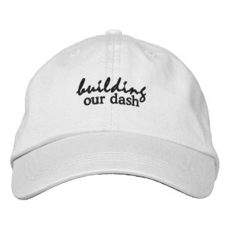building our dash embroidered hat