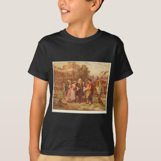 Building the Cradle of Liberty Jean Gerome Ferris T-Shirt