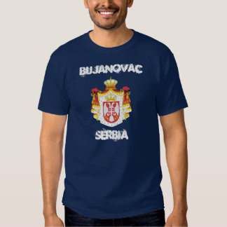 Bujanovac, Serbia with coat of arms T Shirt