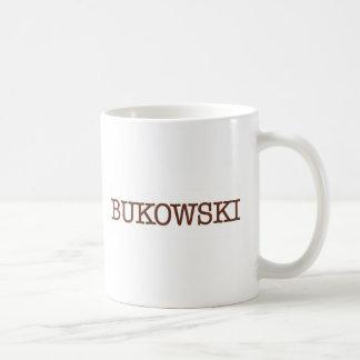 Bukowski Coffee Mugs