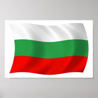 Bulgaria Flag Poster Print