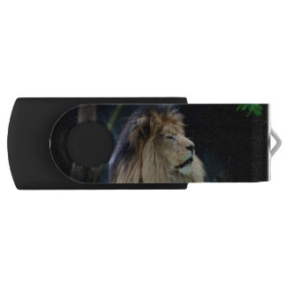 Bulgaria Lion Swivel USB 2.0 Flash Drive