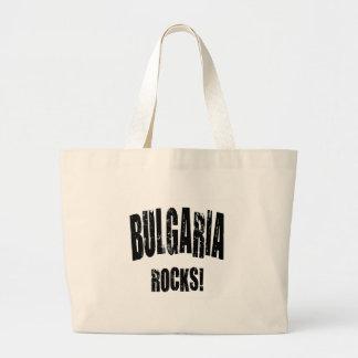 Bulgaria Rocks Tote Bags