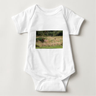 Bull Elk & Blackberries Baby Bodysuit