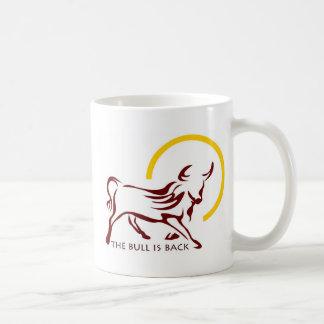 Bull is Back Basic White Mug