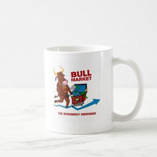 Bull Market Basic White Mug